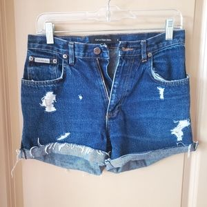 Vintage CK High Waisted Jean Shorts